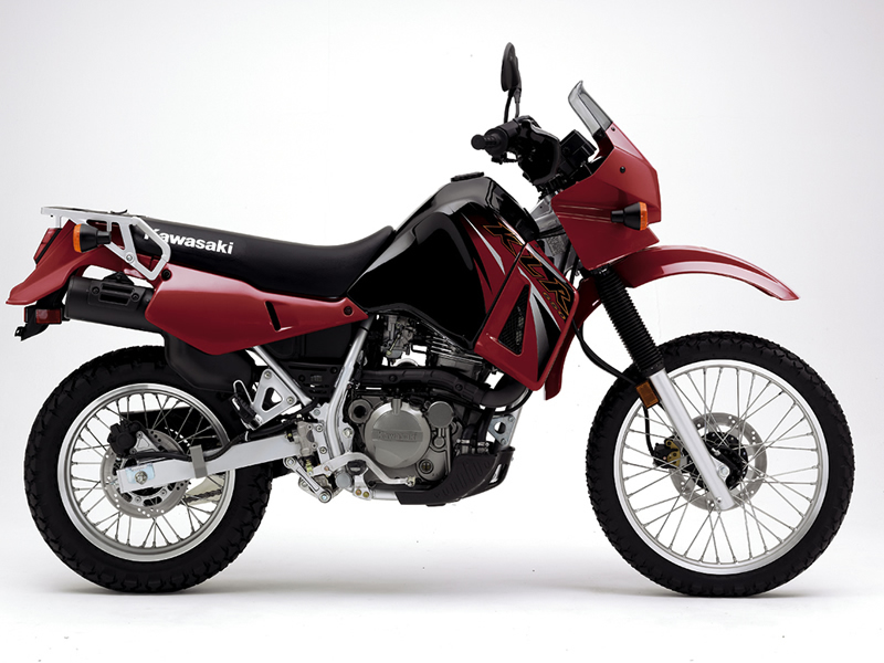 KLR650 right side