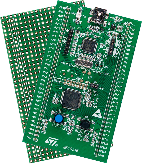 STM32F0 Discovery board